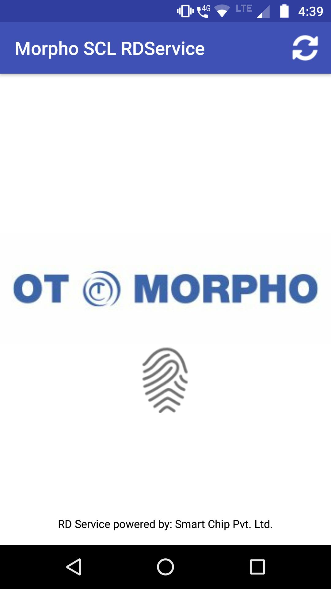 Morpho SCL RDService for Android - APK Download