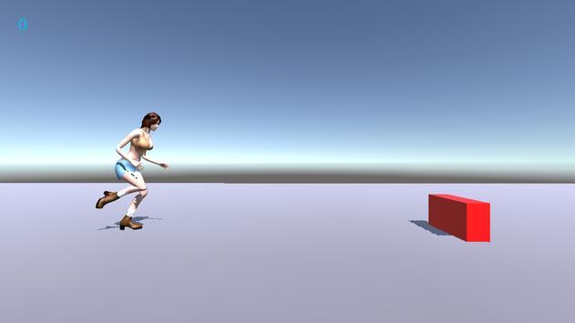 Running Girl apk screenshot