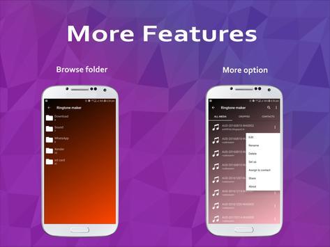 Ringtone Maker & Mp3 Cutter apk screenshot