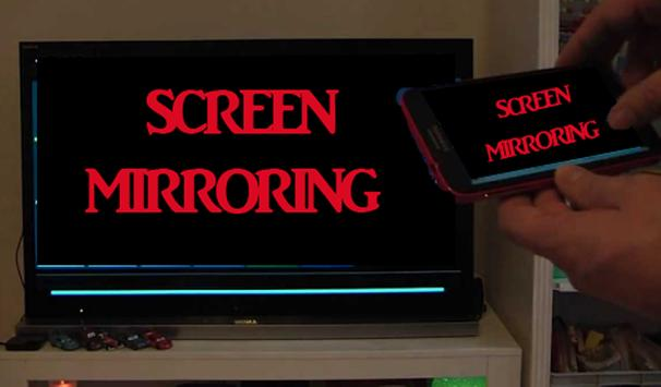 Tips Screen Mirroring poster