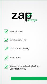 Zap Surveys poster