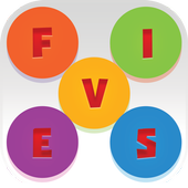 V-Fives Scrabble Word icon
