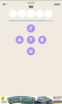 V-Fives Scrabble Word poster