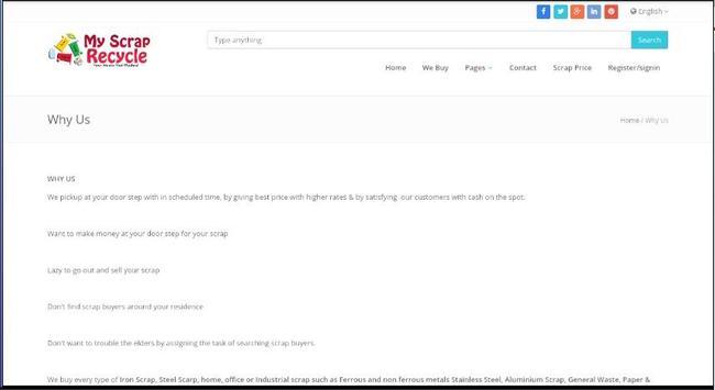 MyScrapRecycle apk screenshot