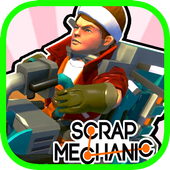 Scrap Simulator Mechanic icon