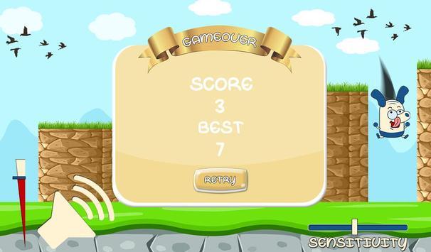 Scream Dog Go: Eighth Note apk screenshot