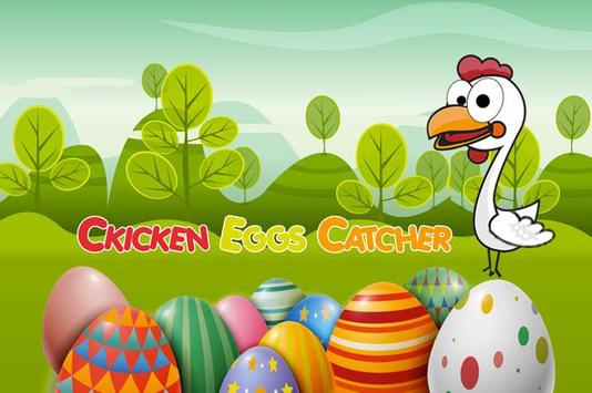 chicken eggs game poster