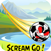 Angry Scream Go Soccer icon