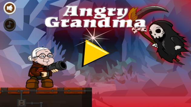 Grandma Super Angry poster
