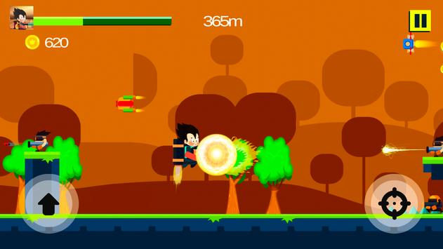 Super Saiyan Attack apk screenshot