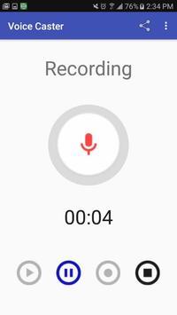 Voice Caster screenshot 1