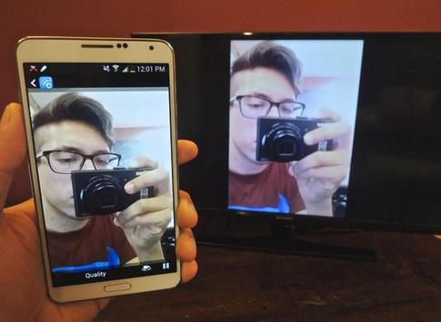 Screen Mirroring For Samsung Smart TV poster