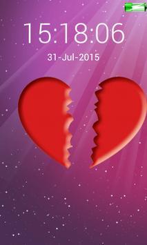 love heart screen lock code screenshot 1
