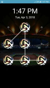 Screen Lock Football Pattern screenshot 2
