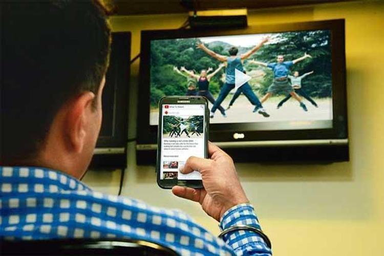 Просмотр фотографий с телефона на телевизоре