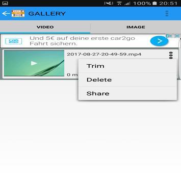 Record Screen Video Audio Foto Trim screenshot 2
