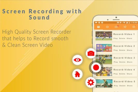 Screen Recorder HD Screen Capture Live screenshot 4