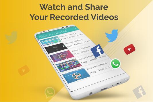 Screen Recorder HD Screen Capture Live screenshot 7