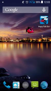 Angry Fish - ScreenMate apk screenshot