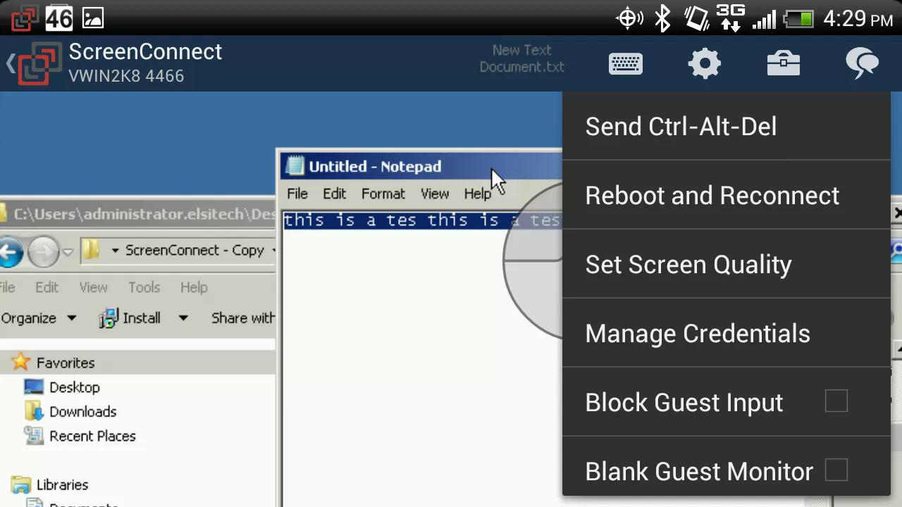 ScreenConnect for Samsung for Android - APK Download