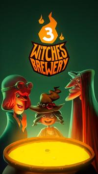 3 Witches Brewery poster