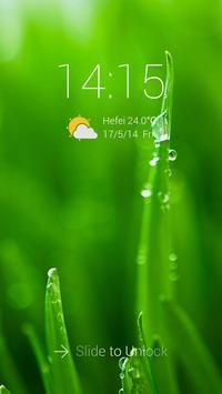 Green Plants Theme ScreenLock apk screenshot