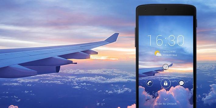 Sky Theme ScreenLock apk screenshot