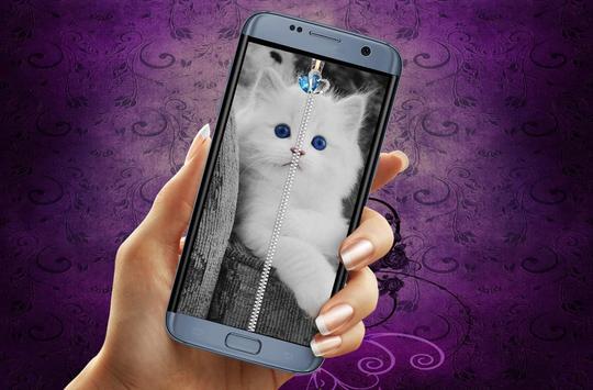 Kitty Cat Screen Lock poster