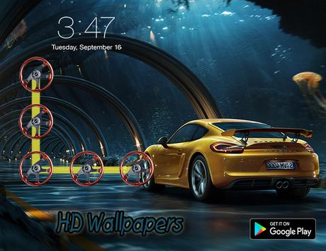Luxury Car Screen Lock screenshot 10