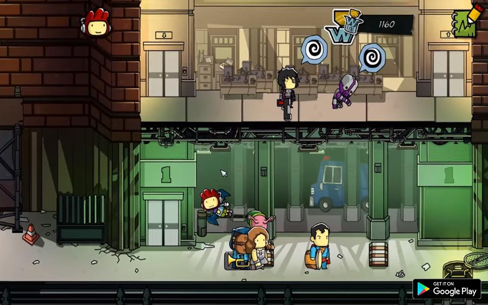 Tips Scribblenauts Unlimited cho Android - Tải về APK