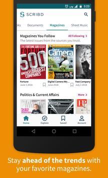 Scribd - Reading Subscription apk screenshot