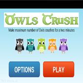 Owls Birds Crush icon