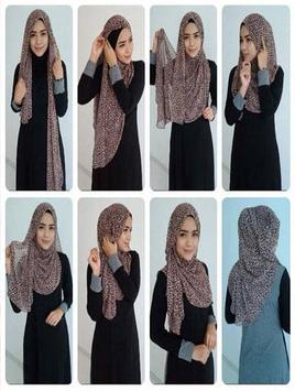 Hijab Tutorial Fashionable poster
