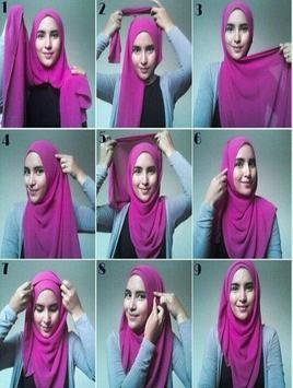 Hijab Tutorial Fashionable apk screenshot