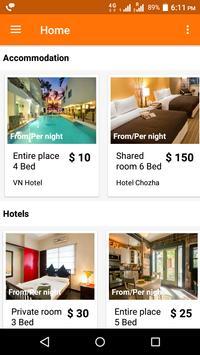 phpbnb -  a Scripts Mall Travel Booking app apk screenshot