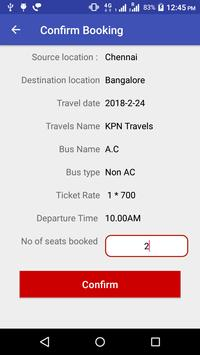 PHP Bus - PHP Scripts Mall Bus Booking App apk screenshot