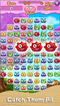 Scrubby Monster Hunt Match 3 - Story Mode poster