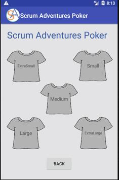 Scrum Adventures Poker screenshot 1