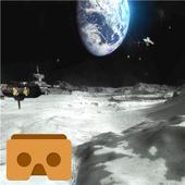 VR Moon Walk 3D icon