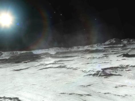 VR Moon Walk 3D apk screenshot