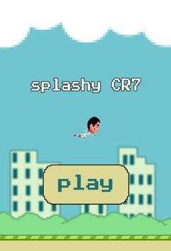 splashy CR7 poster
