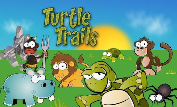 Turtle Trails - no ads - unblock puzzle poster