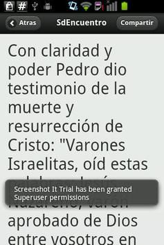 Guia Encuentro 2012 - Bíblico poster