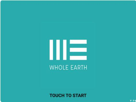 Whole Earth eMenu poster