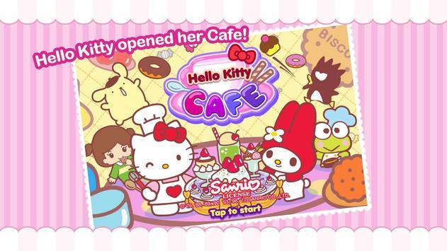 Hello Kitty Cafe постер