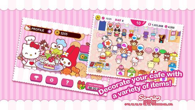 Hello Kitty Cafe скриншот 12