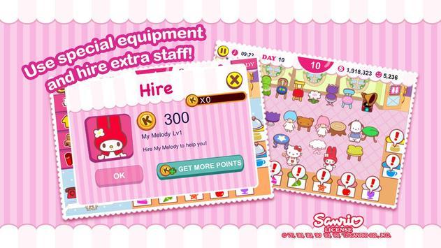 Hello Kitty Cafe скриншот 8