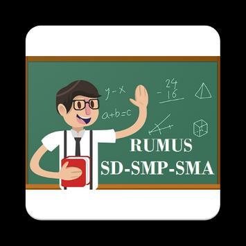 Rumus Matematika SD SMP SMA poster