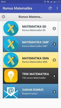 Rumus Matematika SD SMP SMA screenshot 1