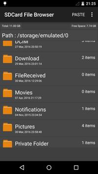 sdcard File Manager screenshot 5